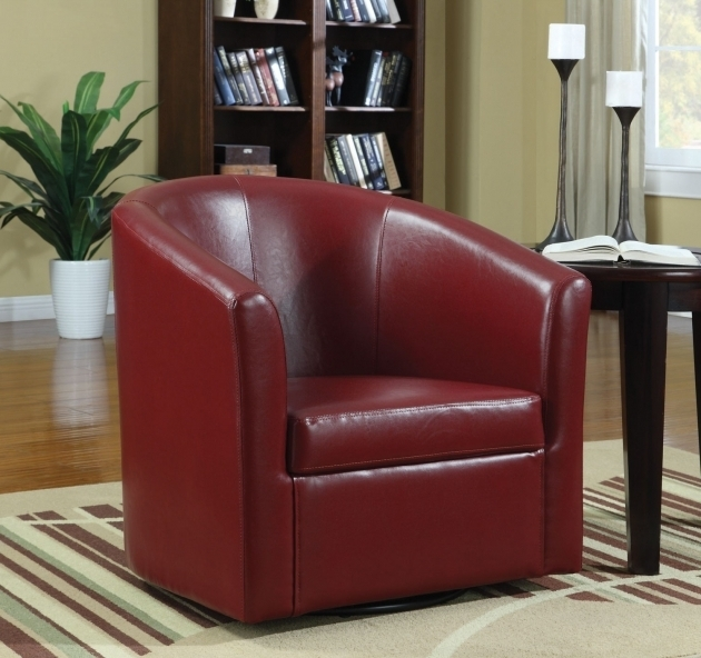 Coaster Swivel Chair Fine Furniture Accent Swivel Chair In Vinyl Upholstery Images shoshuga 75