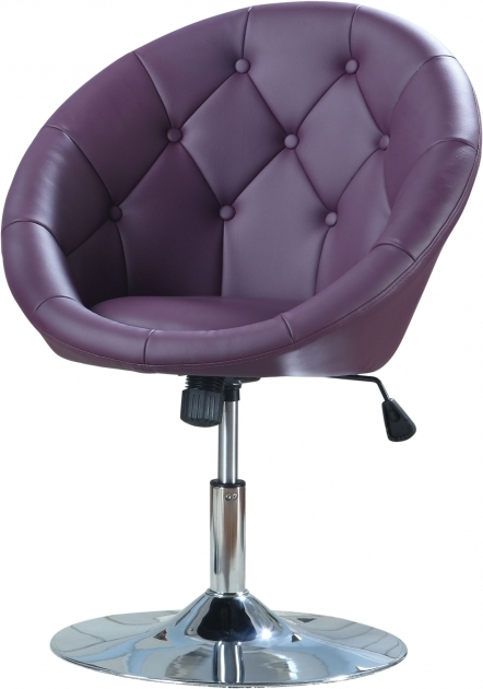 Coaster Swivel Chair Purple Contemporary Round Button Tufted Swivel Chair Pictures shoshuga 35