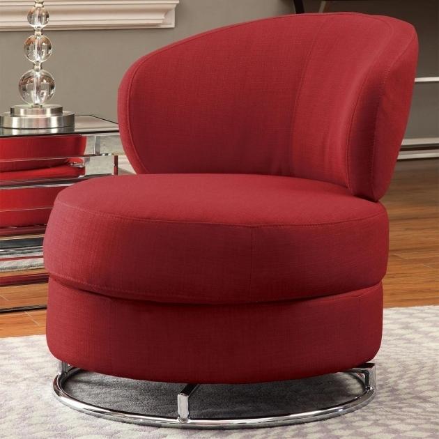 Coaster Swivel Chair Red Fabric Sofa Furniture Picture shoshuga 94