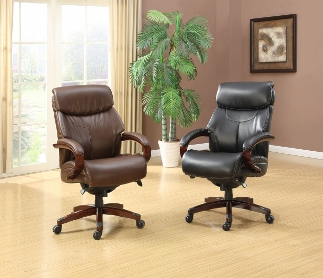 Lazy Boy Executive Chair Brown And Black Picture 35