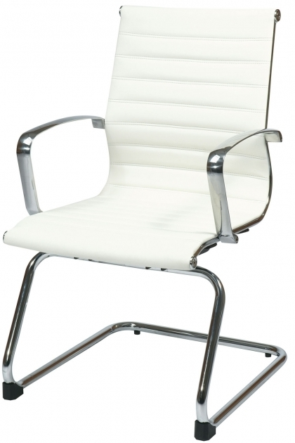 Modern Office Guest Chairs Seat White Images 10