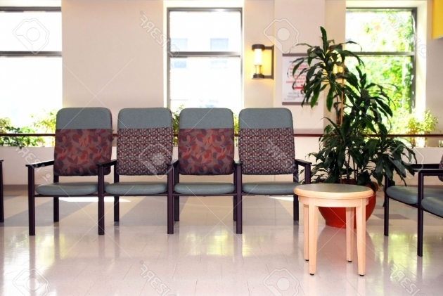 Office Waiting Room Chairs Hospital Or Clinic With Empty Chairs Photo 06