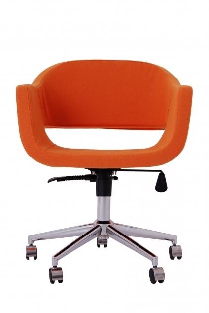 Orange Office Chair Design Photos 71
