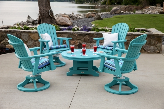 Outdoor Swivel Chairs Furniture Recycled Plastic Milk Pictures 77