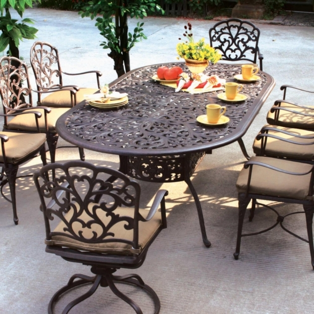 Outdoor Swivel Dining Chairs And High Back Photo 81