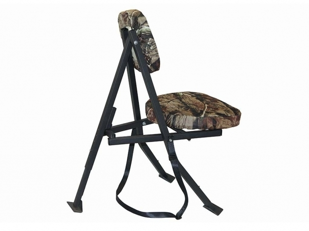 Portable Swivel Hunting Chair With Backrest Images 11