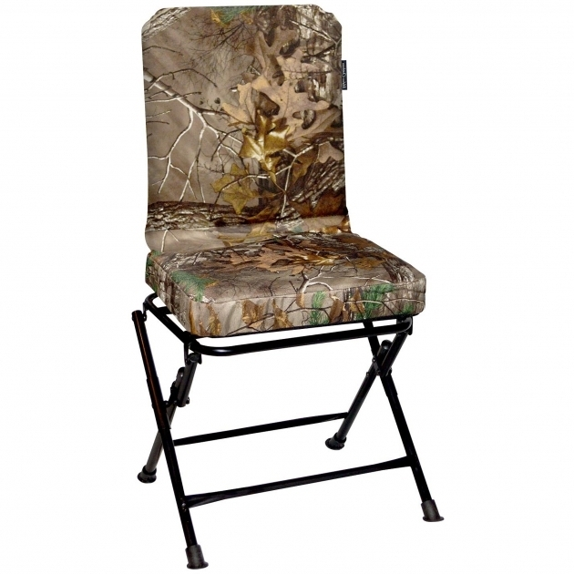 Realtree Xtra Oversized Swivel Hunting Chair With Backrest Images 75