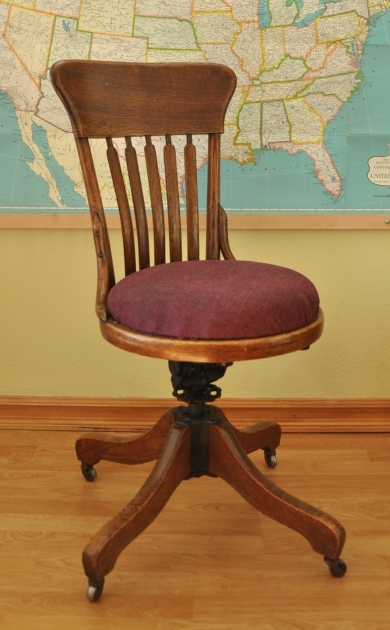 Repairing Wooden Swivel Desk Chair Pictures 04