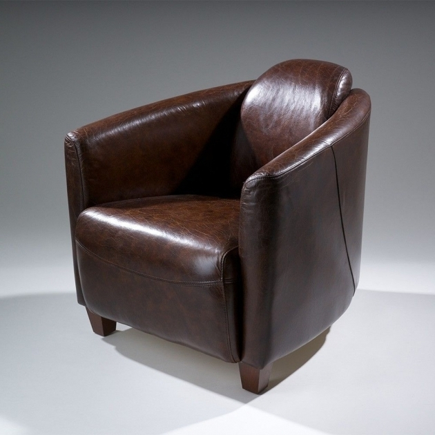 Rocket Jet Fighter Top Grain Leather Club Chair Design Photo 45