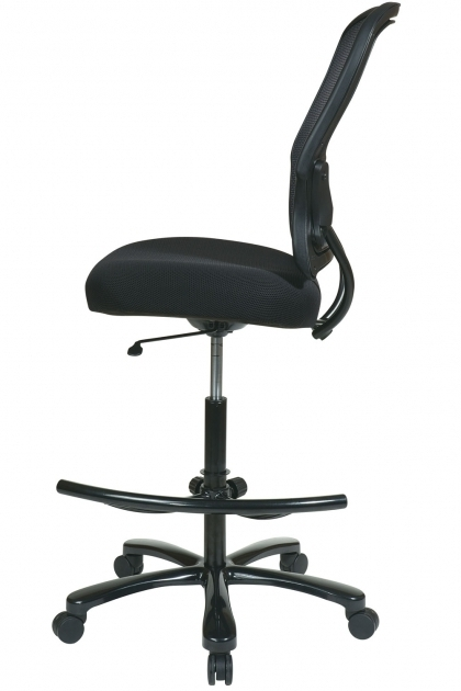 Star Space Air Grid Back Big And Tall Drafting Tall Office Chairs For Standing Desks Pictures 43