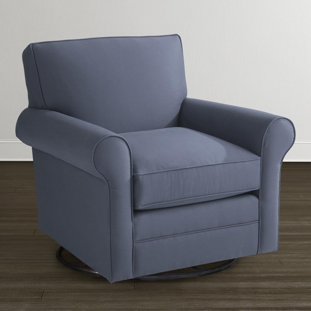 Swivel Glider Chair Classic Upholstered Pictures 55