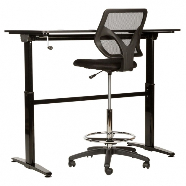 Tall office chairs for standing desks chair design for Standing office desk furniture