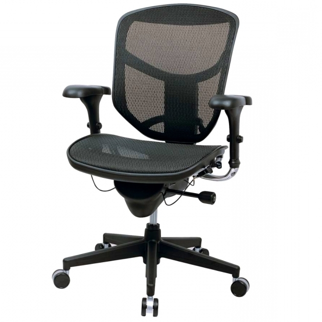 Workpro Commercial Mesh Back Executive Chair Black Computer Executive Chair With Headrest 87