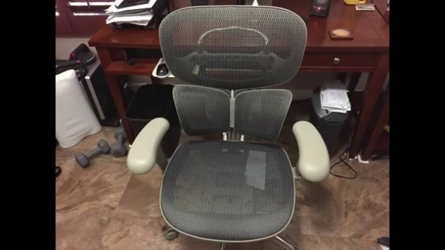 Workpro Commercial Mesh Back Executive Chair Black Office Chairs 62
