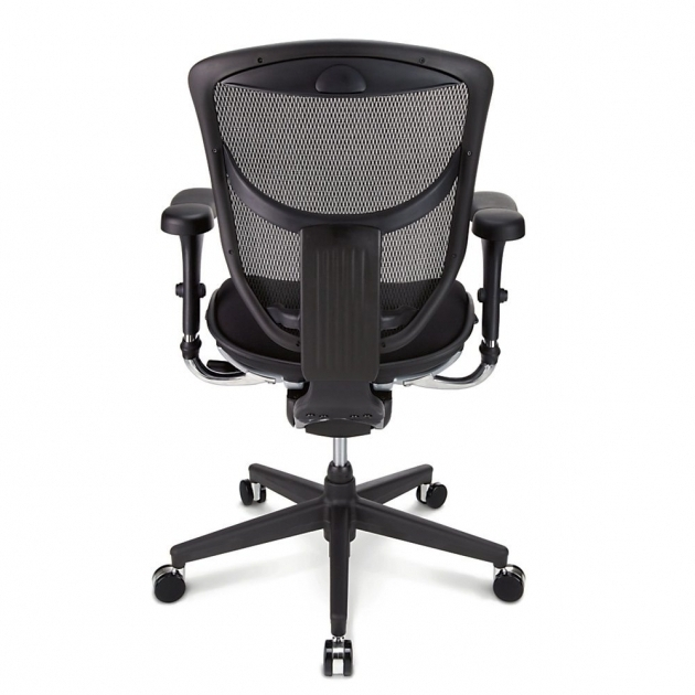 Workpro Commercial Mesh Back Executive Chair Black Quantum Series Ergonomic Mesh Mid Back Chair 98