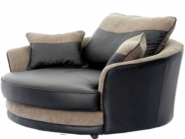 Brown Swivel Club Chairs Upholstered Photos 57