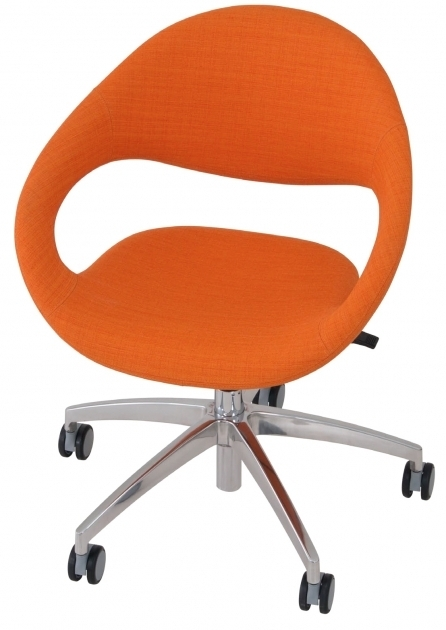 Erg Samba 5 Star Orange Swivel Chair Images 67
