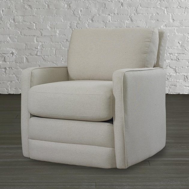 Fabric Tuxedo Chocolate Swivel Accent Chair With Arms Chocolate ...