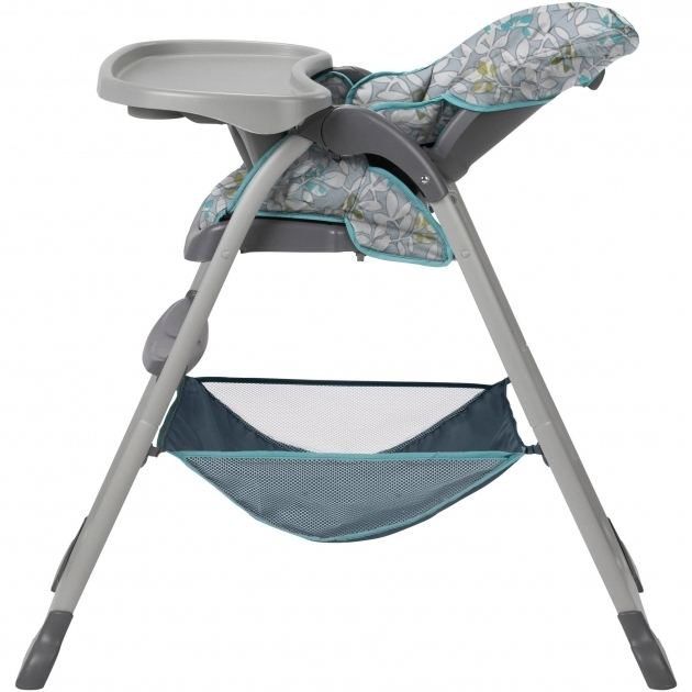 Graco Slim Spaces High Chair Snacker Harvest Image 04