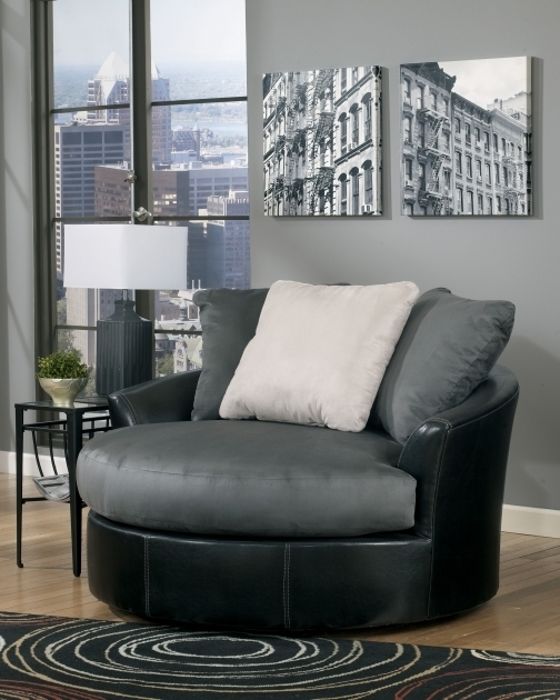 Masoli Cobblestone Oversized Swivel Accent Chair Faux Leather Fabric Photos 26