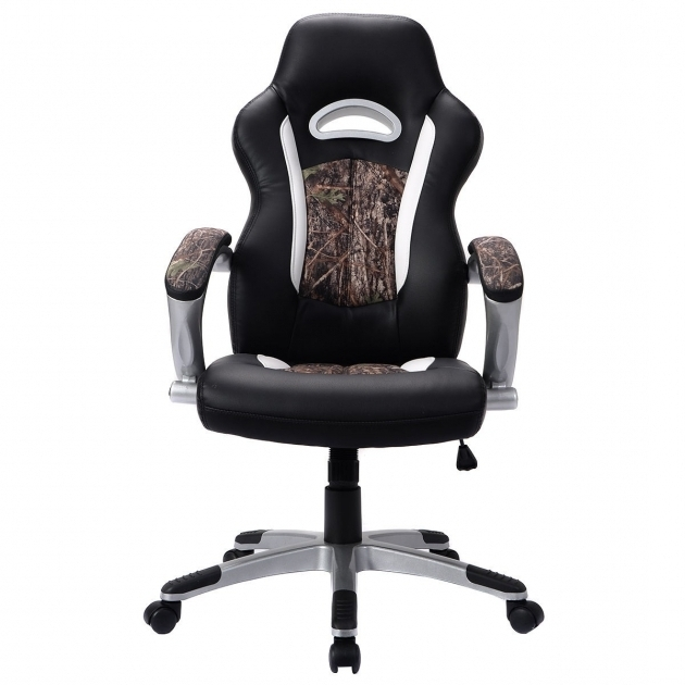 modern camo office chair pu leather high back executive office
