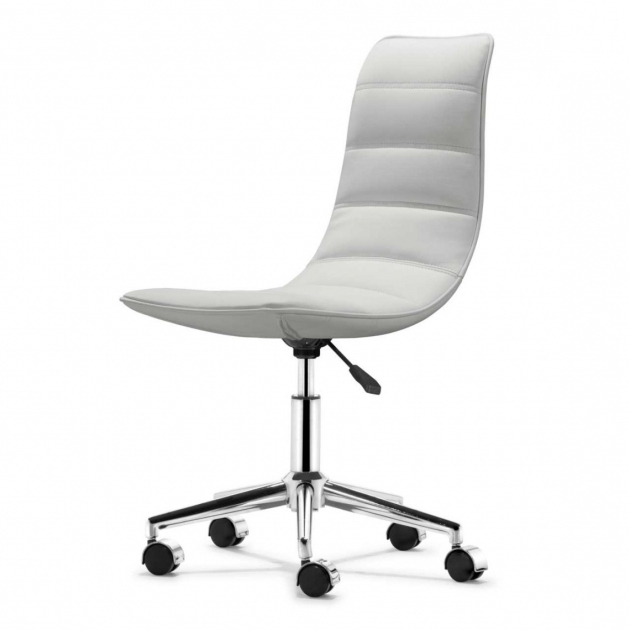 Modern White Modular Small Office Chairs On Wheels Furniture Chair Ideas Image 50