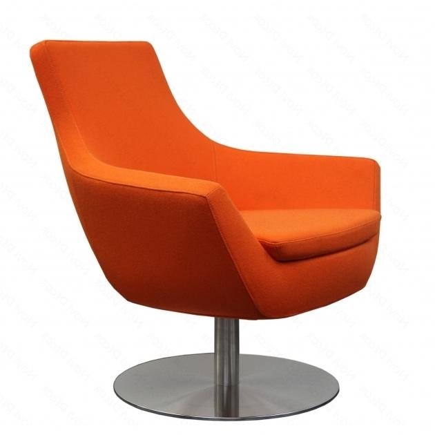 Arm Orange Swivel Chair Living Room Photo 41 | Chair Design