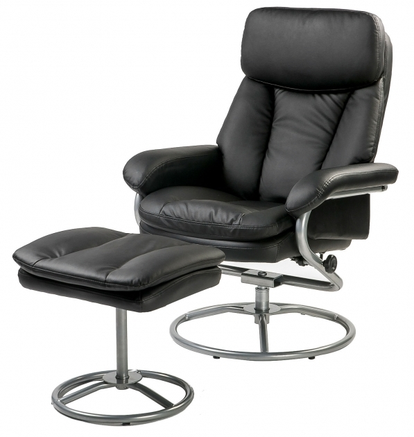Swivel Recliner Chair With Ottoman Armchair Lounge Seat With Footrest Set Images 37