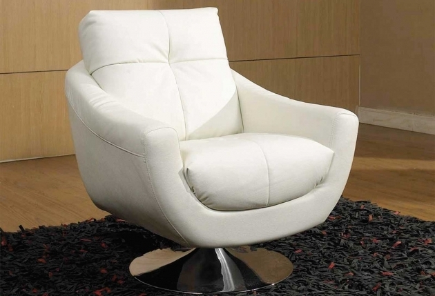 White Swivel Club Chairs Upholstered Accent Chair Furniture Ideas Photos 76