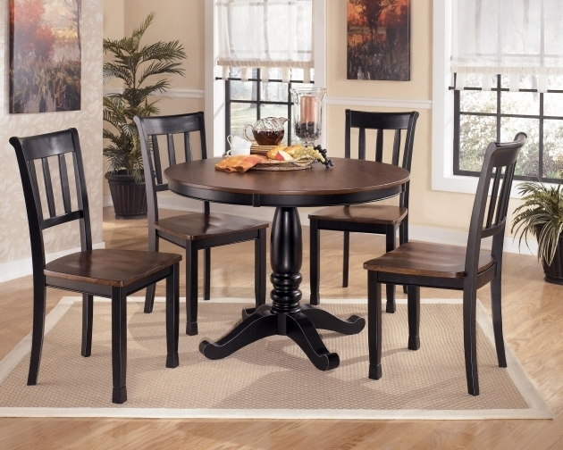 Ashley Furniture Kitchen Table And Chairs Hyland 5 Piece