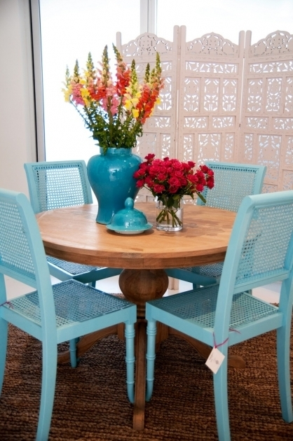 Blue Turquoise Kitchen Chairs Pictures 06