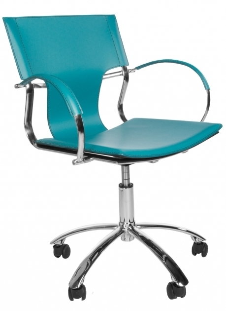 Contemporary Teal Office Chair Image 80