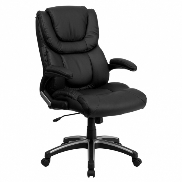 F56 Realspace Fosner High Back Bonded Leather Chair Photo 34