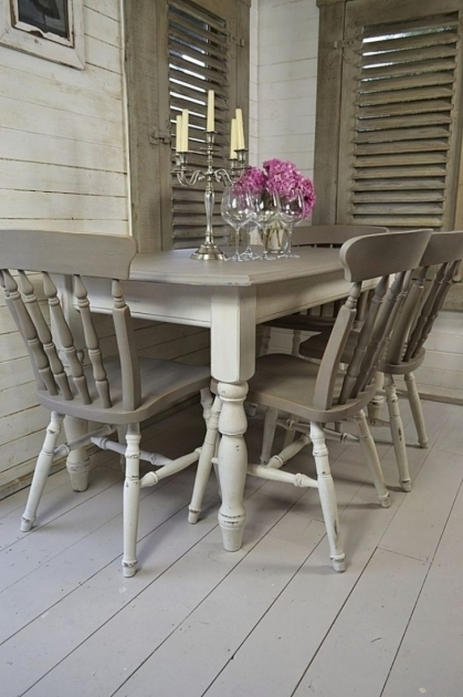 Gray Kitchen Table And Chairs Shabby Chic Furniture Ideas Pictures 64