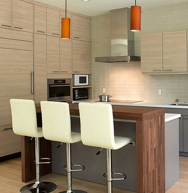 High Bar Stool Design Ideas Chairs For Kitchen Island With White Leather And Pendant Light Photo 36