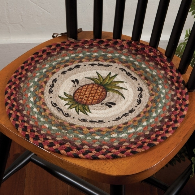 Pineapple Jute Braided Chair Pads For Kitchen Chairs Pictures 62