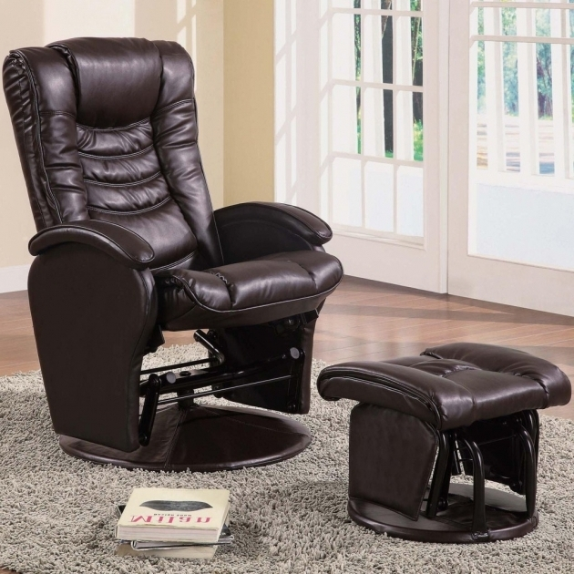 Reclining Office Chair With Footrest Coaster Recliners With Ottomans Casual Glider Pictures 24