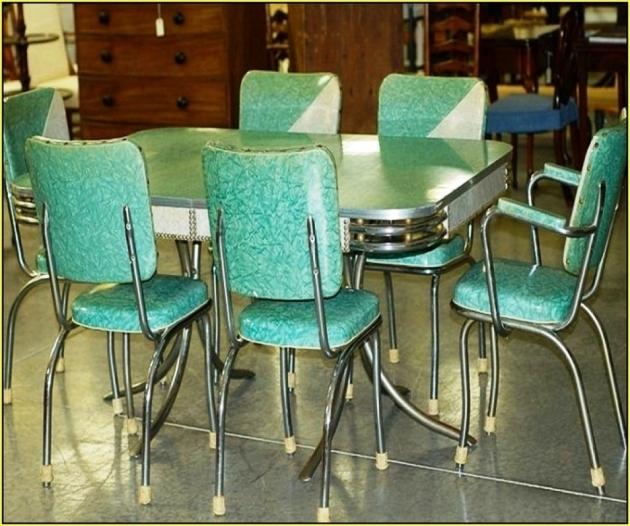 Retro Mini Kitchen Table And Turquoise Kitchen Chairs Design Ideas Image 60