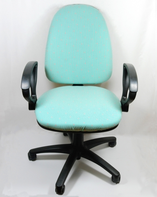 Reupholster Contemporary Teal Office Chair Image 32
