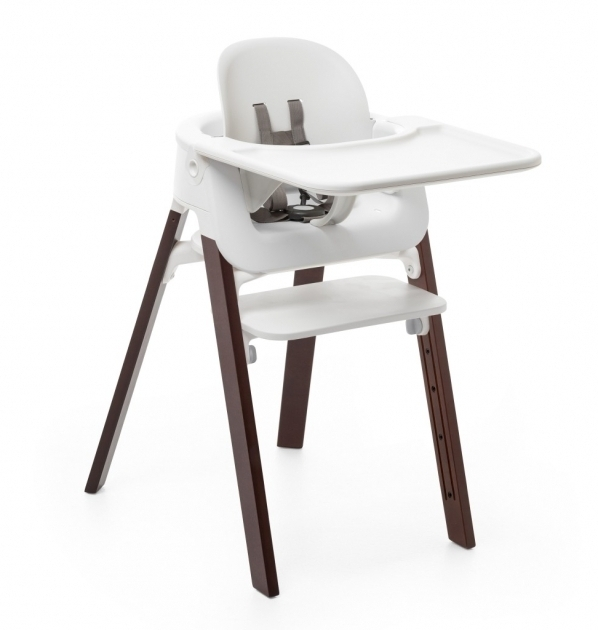 Stokke Steps High Chair Walnut Brown Bs Tray Picture 42