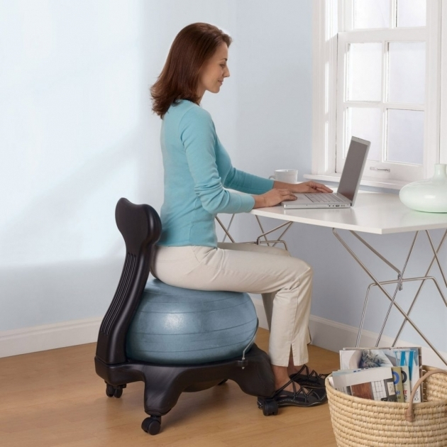 yoga ball office chairs