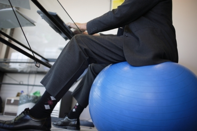 Yoga Ball Office Chair Desk Photo 99