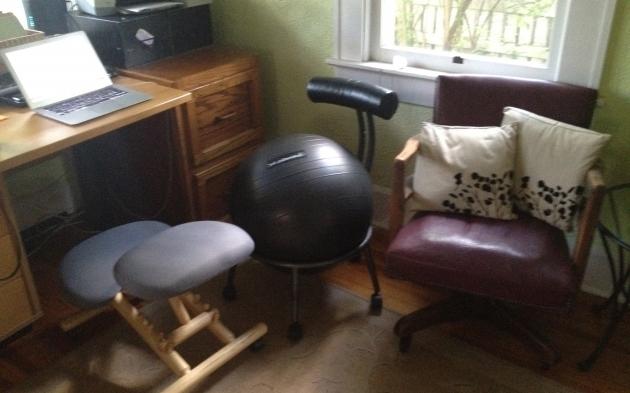Yoga Ball Office Chair Three Desk Chairs  Photo 64