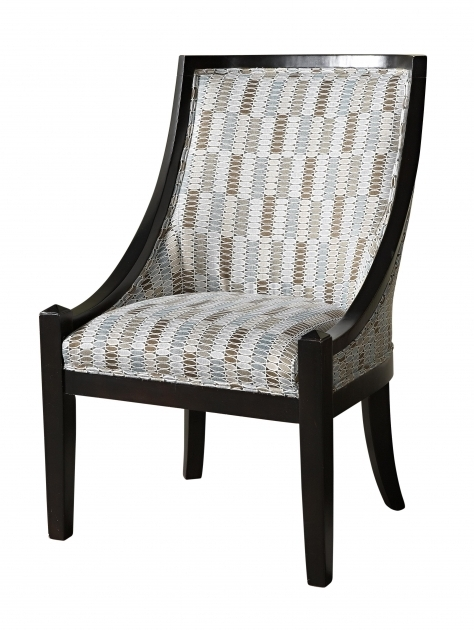 Attractive Gray And White Accent Chairs Image 03