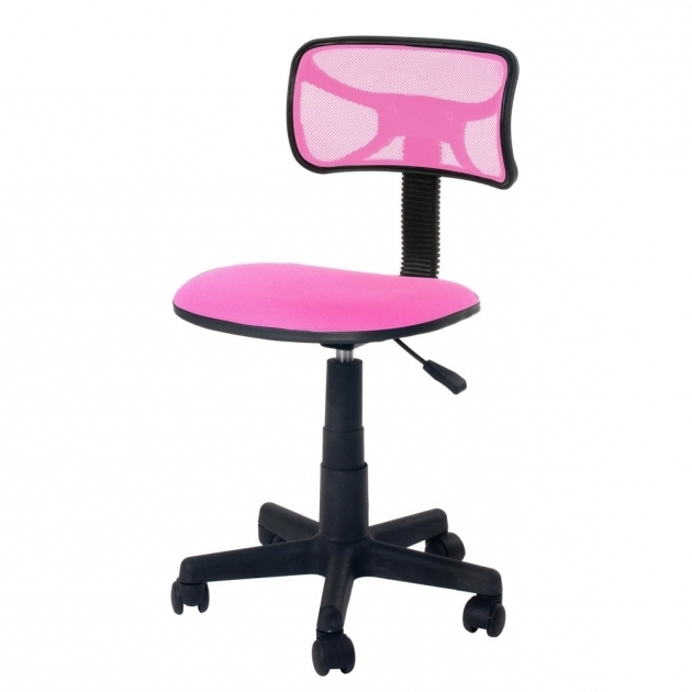 Cute Pink Ergonomic Mesh ComputerGirls Office Chair Desk Midback Kid Student Photos 76