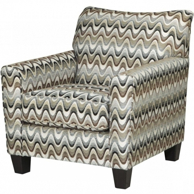 Dayton Kd Fabric Gray And White Accent Chairs Picture 35