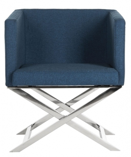 fox2033a navy blue accent chair with arms furniture by safavieh photos 92