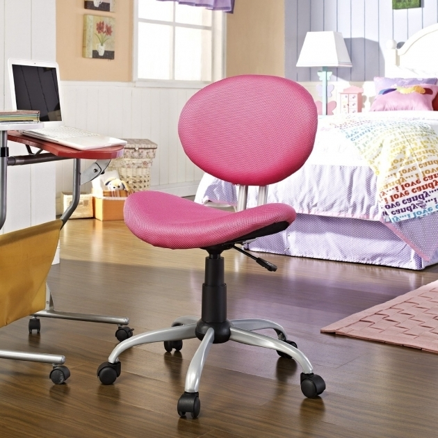 Girls Office Chair Furniture Desk Chairs For Teens  Adjustable Pink Home Ideas Pictures 92