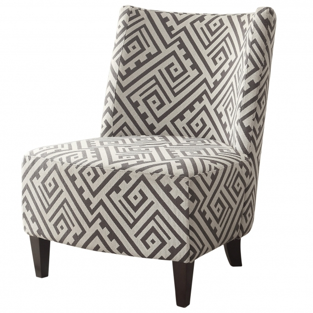 Gray And White Accent Chairs Without Arms Picture 21