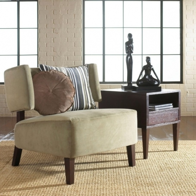 Narrow Accent Chair Design Image sho95